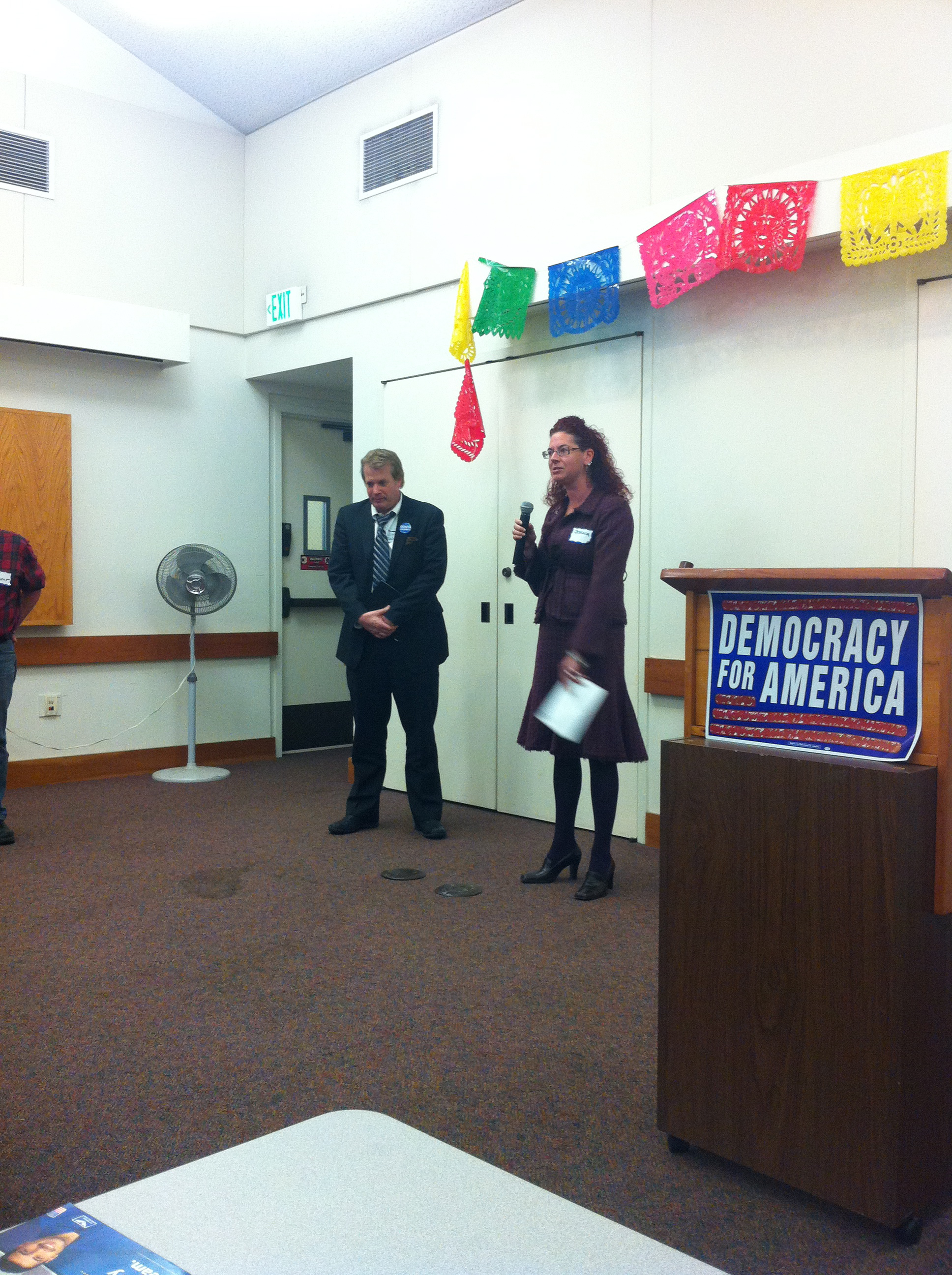 East Bay Democracy for America chooses an AD18 candidate!