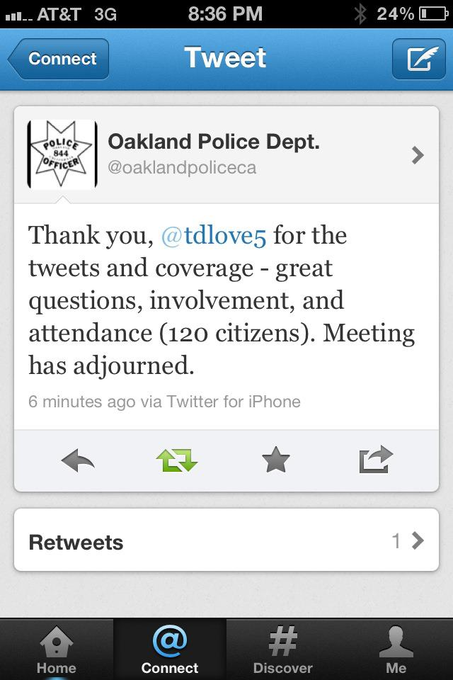 My Rant: #OPD needs to do better.
